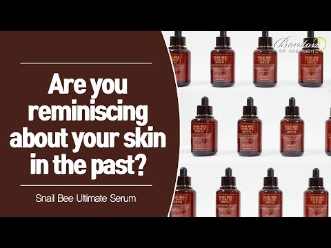 [The evolution of Snail Bee]  'Snail Bee Ultimate Serum'