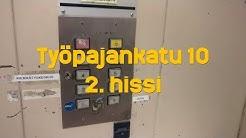 Hissivideo: Työpajankatu 10, Kalasatama, Helsinki, 2. hissi - 1990 Geijer-Hissi (tavarahissi)