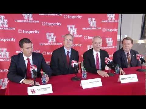 New Houston Football Stadium Press Conference