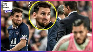 Leo Messi's Reaction To Being Subbed Off Has Stunned The Entire World