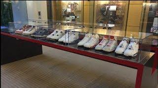 Jordan Brand Headquarters Lobby 2013: Nike BBall Designers Showcased!