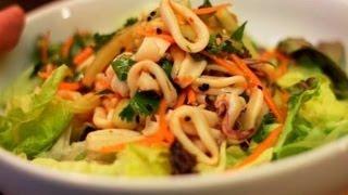 Calamari Salad Recipe (squid!)