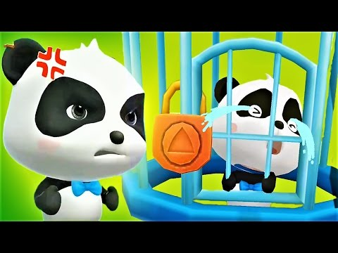 Help The Little Panda To Save The Town| Play Puzzle Game - Baby Panda Gameplay
