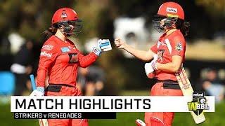 Renegades get instant revenge over Strikers in Adelaide | Rebel WBBL|05