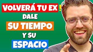 TU EX VOLVERÁ, DALE su TIEMPO y su ESPACIO y ¡RECUPERA A TU EX!