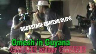 Omesh Singh Indian selection live in Guyana.