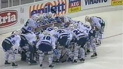 Turkuhallin avausottelu TPS - SaiPa vuonna 1990