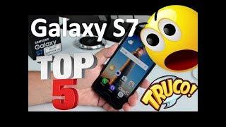 Top 5 Trucos para Samsung Galaxy S7 y S7 Edge - Trucos S7 Comoconfigurar