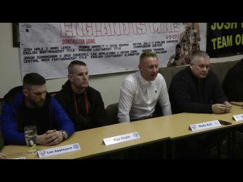 England Is Mine Press Conference