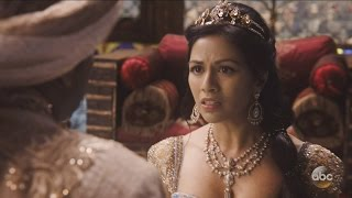 once upon a time 6x15 jafar to jasmine marry me to save your kingdom season 6 episode 15