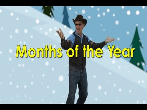 Months Of The Year Song | Months of the Year Line Dance | 12 Months | Jack Hartmann