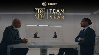 FIFA 20 TOTY Reveal ft Virgil van Dijk | Alisson, Alexander-Arnold, Robertson, Mane
