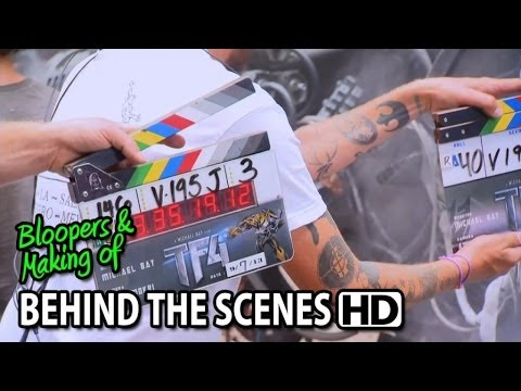 Transformers: Age of Extinction (2014) Making of & Behind the Scenes