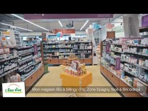 Mon magasin Bio L'Eau Vive à Sillingy près d'Annecy (74)