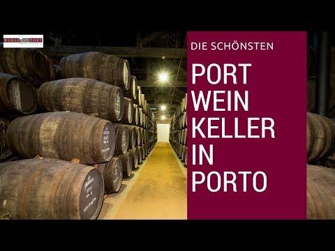 Die schönsten Portweinkeller in Porto / Vila Nova de Gaia