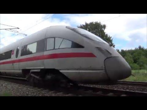 Züge  ICE, IC etc. aus ungewöhnlichen Perspektiven!  - Trains: ICE, IC, etc. unusual perspective!