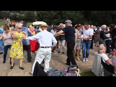Dancing at the Twinwood festival 2015