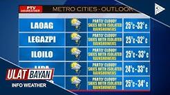 PTV INFO WEATHER: Frontal system, umiiral sa silangang Luzon at Visayas