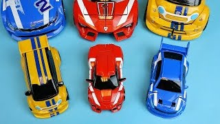 TOBOT ABC transformers car toys & CarBot cars 또봇 애슬론