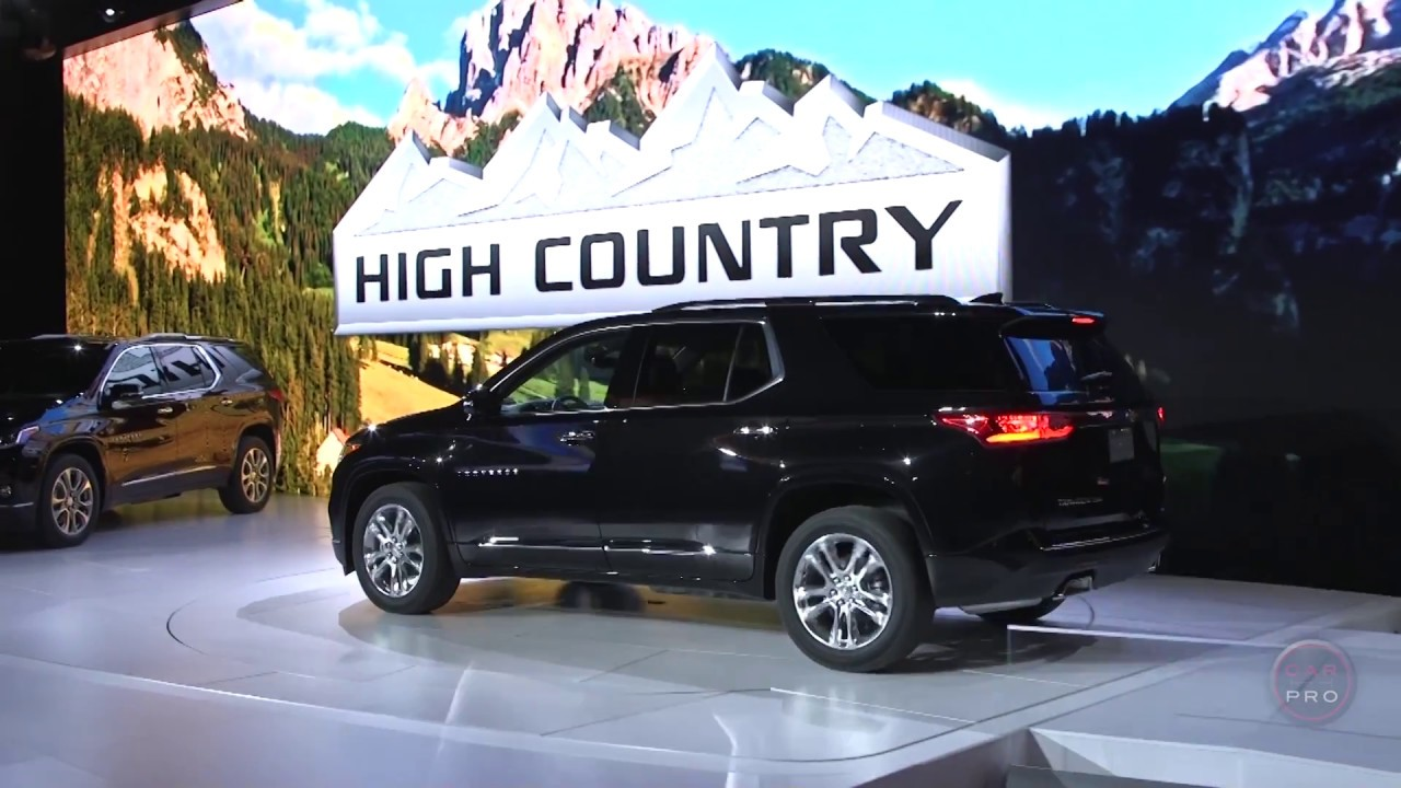 2018 Chevrolet Traverse High Country First Look Youtube