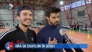 """Stirile Kanal D (22.11.2018) - S-a dat startul campaniei """"Ora de Exatlon in scoli""""!"""