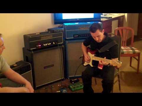 Austin Amp Show, Tomaszewicz TZZ-35H Amp Demo 2 - Billy Penn 300guitars.com