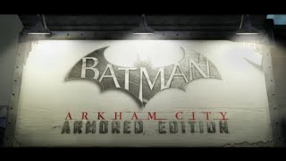 Batman Arkham City Armored Edition (Wii U) Review
