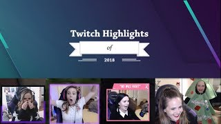 ALL TWITCH CLIPS FROM 2018 - agirlwithaplan