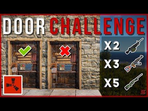 RUST | 50/50 DOOR CHALLENGE GAMESHOW!! | Rust Gameshow Gameplay thumbnail