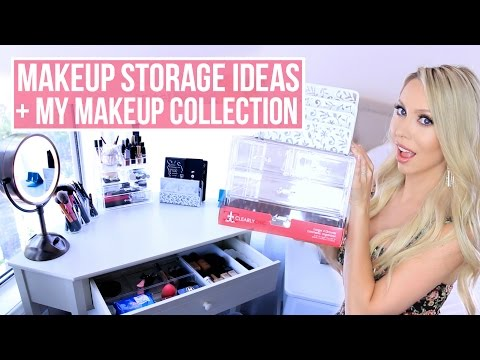 Thumbnail: Cheap Makeup Storage and Organization Ideas + My Makeup Collection!