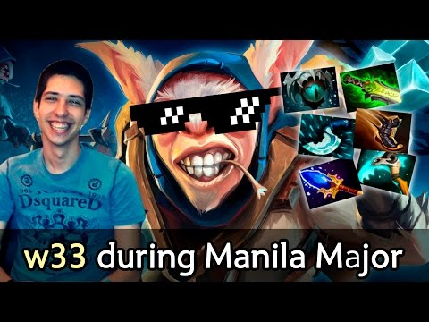 w33 8000 MMR Meepo SEA adventure — full game Dota 2