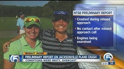 Preliminary report on Jacksonville plane crash