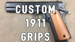 Rock Island Armory 1911 Custom Grip Change