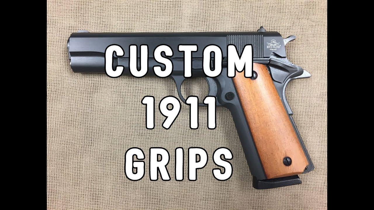 Rock Island Armory 1911 Custom Grip Change
