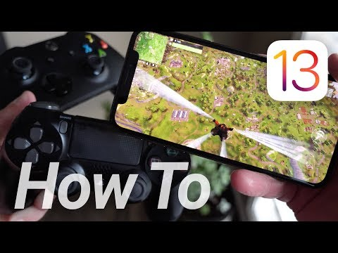 IOS 13 PS4 & Xbox Controller Setup! This Changes Everything