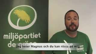 En minut grön politik - Studentstaden Örebro