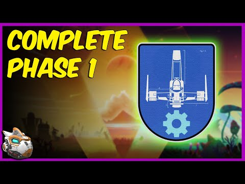 How to Complete Phase 1 in Expedition 3   No Man's Sky Frontiers Update 2021 Gameplay