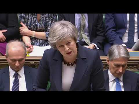 Prime Minister's Questions: 9 January 2019