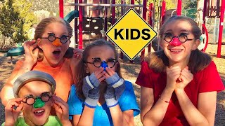 Learn English Words! Playground Hide and Seek with Sign Post Kids!