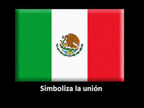 CANTO A LA BANDERA MEXICANA