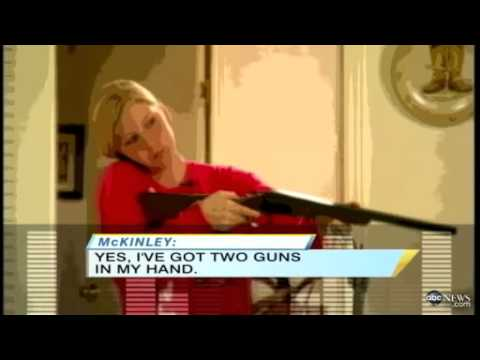 Mom Asks 911 For Permission To Shoot Intruder - Actual Call