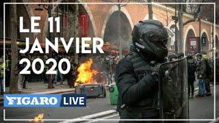 Débordements de la manifestation contre la réforme des retraites à Paris