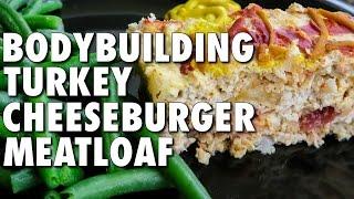 Easy Turkey Cheeseburger Meatloaf (bodybuilding & Macro-friendly)