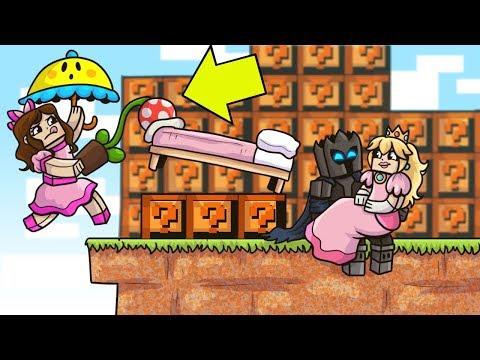 Minecraft: MARIO LUCKY BLOCK BEDWARS! - Modded Mini-Game