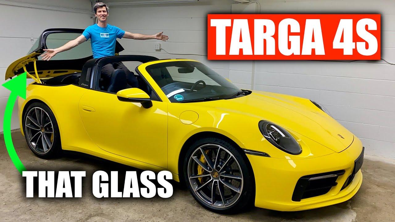 2021 Porsche 911 Targa 4S Review - Big Beautiful Glass!