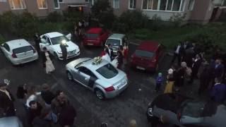 Свадебный кортеж Audi TT, Spb, 2016