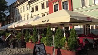 アキーラさん散策①ポーランド・クラクフ・欧州最大のユダヤ人ゲットー!レストラン街!Jewish town in Krakow in Poland
