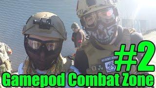California Gamepod Combat Zone Airsoft Gameplay #2 - BANG BANG!