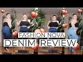 DO FASHION NOVA CURVE JEANS REALLY MAKE YOUR BOOTY POP? | PLUS SIZE DENIM HAUL