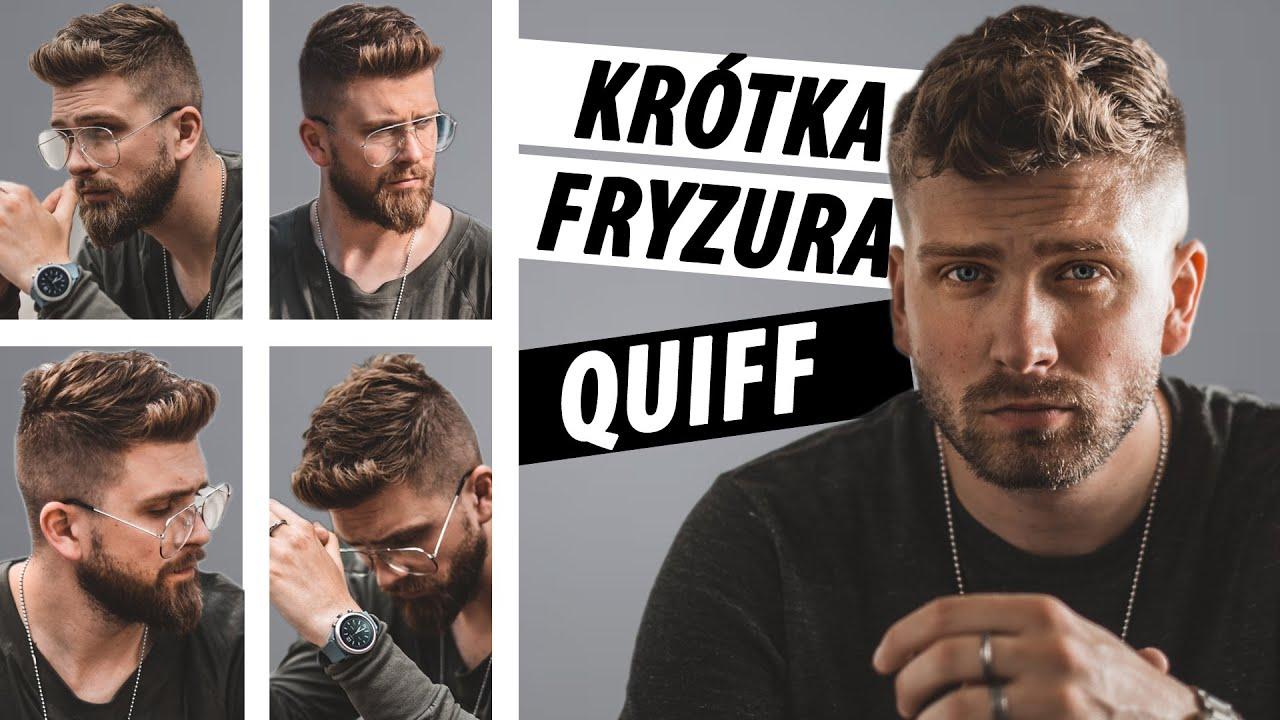 Najwygodniejsza Krótka Fryzura Męska Na Lato 2019 Quiff Na Wakacje